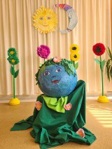 """Kretingos darželio – mokyklos """"Žibutė"""" organizuojama XII vaikų teatrų šventėje """"Mėlynasis lapelis 2021″"""
